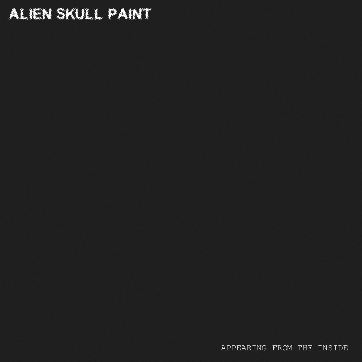 Alien Skull Paint